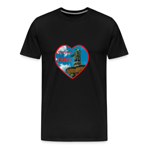 Universitätsstadt Freiberg - Männer Premium T-Shirt