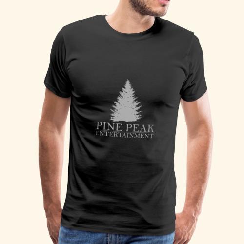 Pine Peak Entertainment Grey - Mannen Premium T-shirt