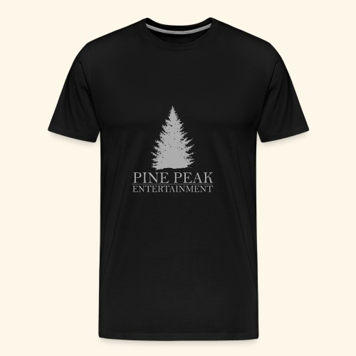 Pine Peak Entertainment Grey - Mannen Premium T-shirt