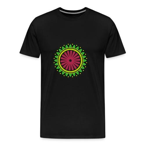 FLOWER MANDALA - T-shirt Premium Homme