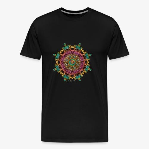 Caleidoscoop mandala - Mannen Premium T-shirt