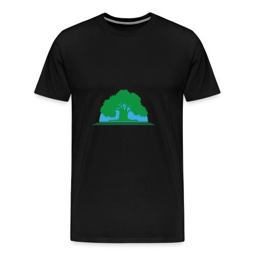 Wildlife Baum - Männer Premium T-Shirt