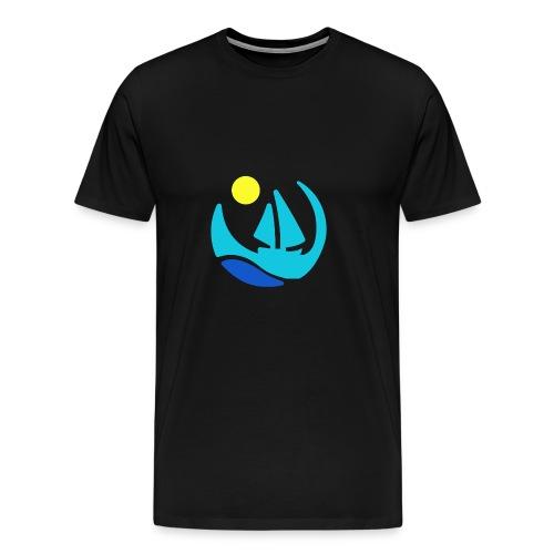 Ozean by ship - Männer Premium T-Shirt