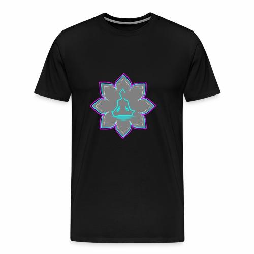 Flor buda - Camiseta premium hombre