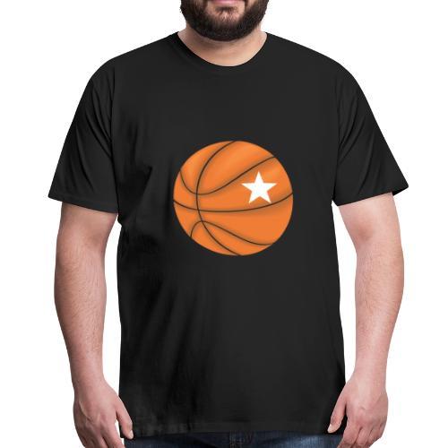 Basketball Star - Männer Premium T-Shirt