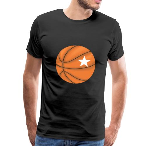 Basketball Star - Männer Premium T-Shirt