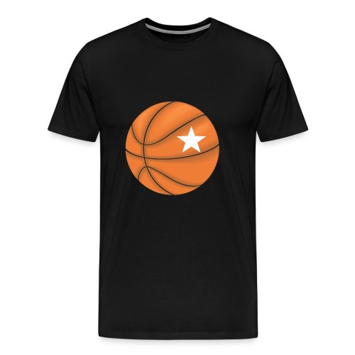 Basketball Star - Mannen Premium T-shirt