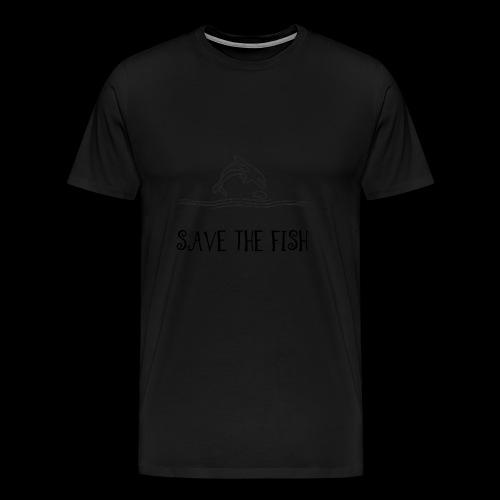 Save the fish - Herre premium T-shirt