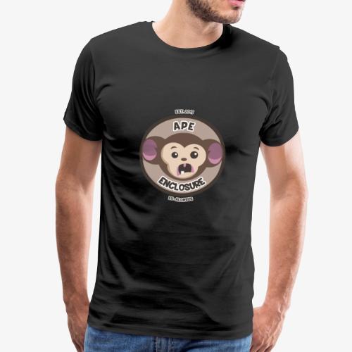 Ape Enclosure Logo - Men's Premium T-Shirt