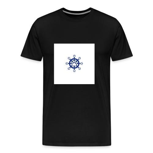 Steuerrad - Männer Premium T-Shirt