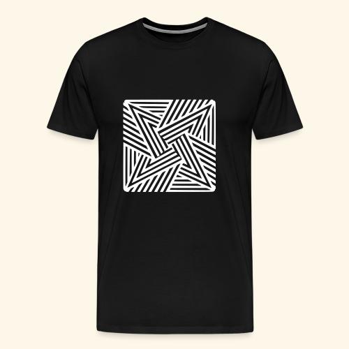 Vektor Stern T-Shirt - Männer Premium T-Shirt
