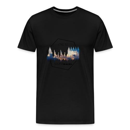 soundwaves - Männer Premium T-Shirt
