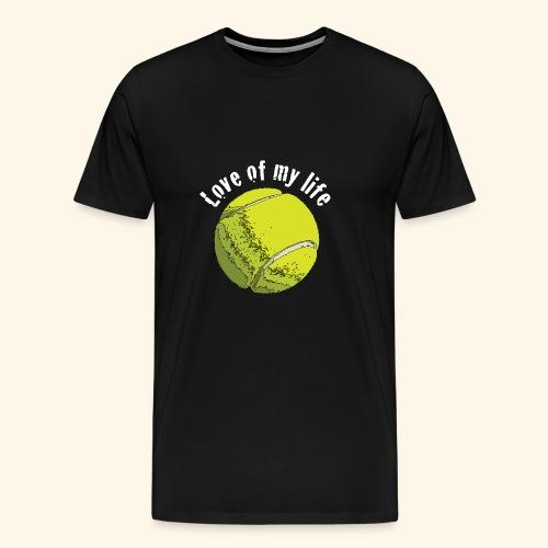 tennislove2 - Männer Premium T-Shirt