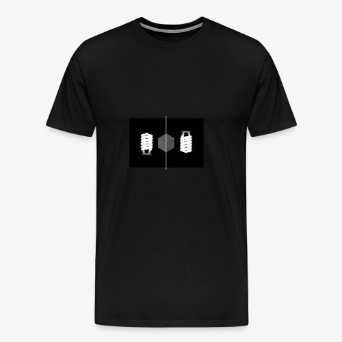 light - Männer Premium T-Shirt