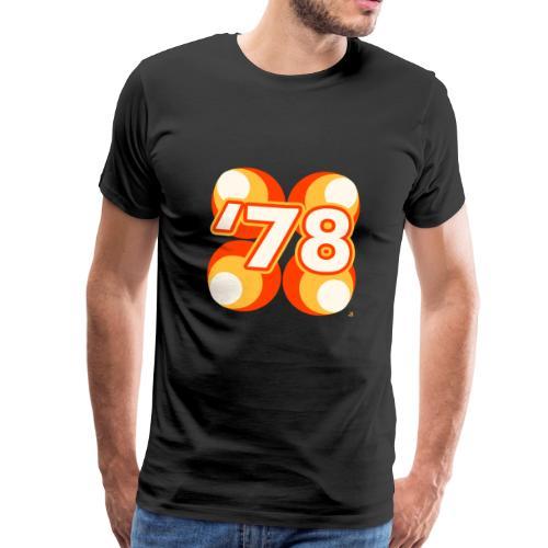 78 wall pattern II - Männer Premium T-Shirt