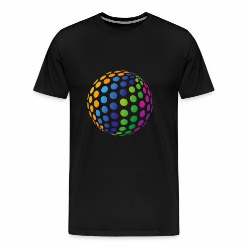 Punkte Kreis - Männer Premium T-Shirt