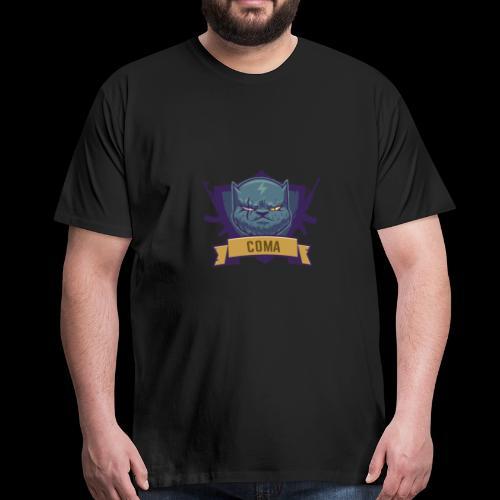 logo coma - T-shirt Premium Homme