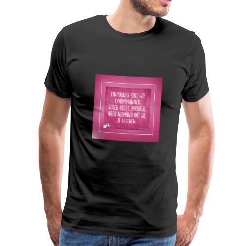 Super Sprüche - Männer Premium T-Shirt