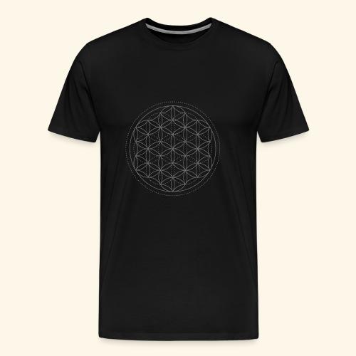 Blume des Lebens - Männer Premium T-Shirt