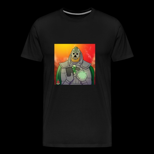 Elliot the Necron WITH MORE COLOUR? - Men's Premium T-Shirt