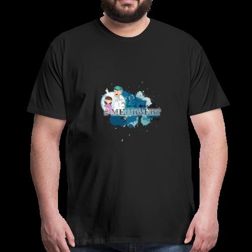 Mehrwert mit Richtig Schwanger - Männer Premium T-Shirt