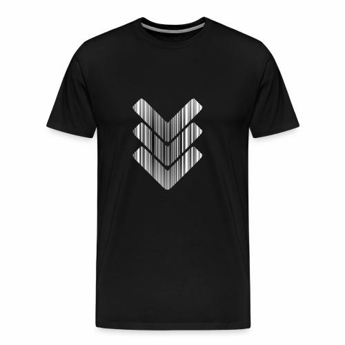 Strichcode - Männer Premium T-Shirt