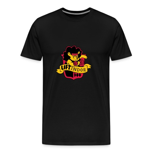 Hogweights Swolecraft Liftery Liftindor - Männer Premium T-Shirt