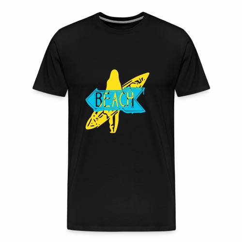 surfer girl - Men's Premium T-Shirt