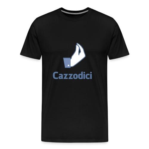 cazzodici - Maglietta Premium da uomo