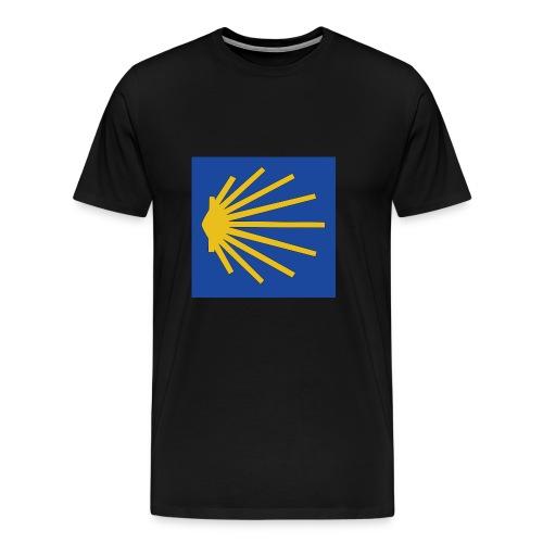Muschel Wegweiser - Männer Premium T-Shirt