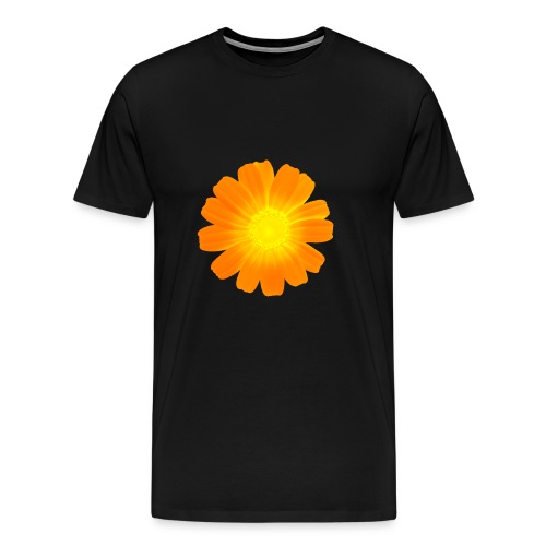 Galician Flower white 8 - Männer Premium T-Shirt
