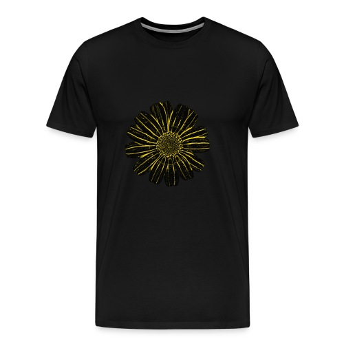 Galician Flower white 5 - Männer Premium T-Shirt