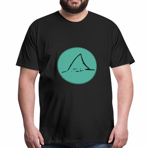 Haifischflosse - Männer Premium T-Shirt