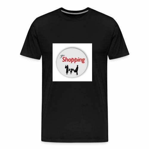logo go shopping - Camiseta premium hombre