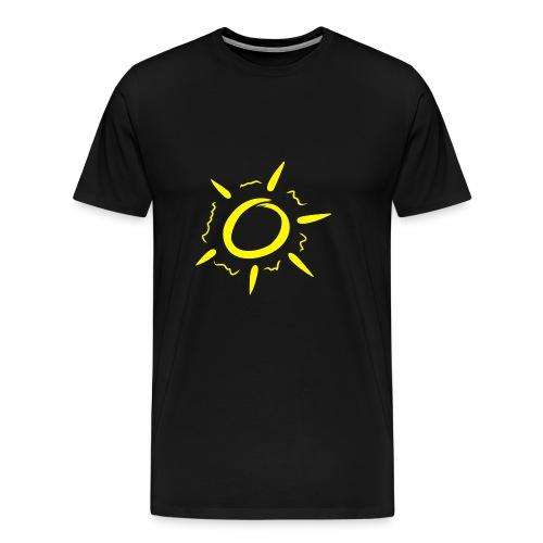 Sonne gelb - Männer Premium T-Shirt