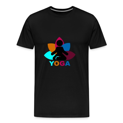 yoga - Men's Premium T-Shirt