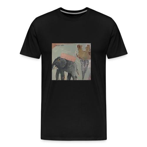 Elefant - Männer Premium T-Shirt