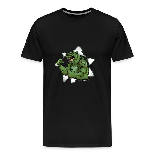 Vip3rBear Logo - Men's Premium T-Shirt