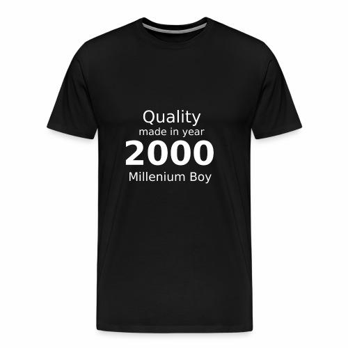 millenium boy - Männer Premium T-Shirt