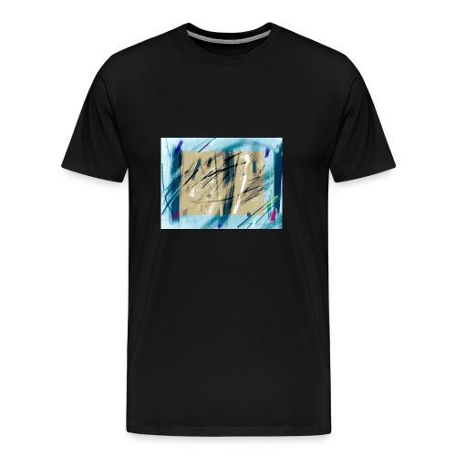 peinture - T-shirt Premium Homme