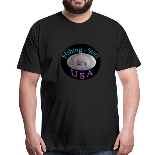 Fishing - Stars USA - Männer Premium T-Shirt