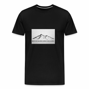Mountains are calling - Männer Premium T-Shirt