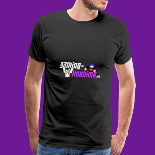 Gaming-livetime.net Freunschaft - Männer Premium T-Shirt