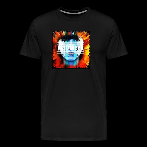 Cover + Slogan WalzWerk - Männer Premium T-Shirt