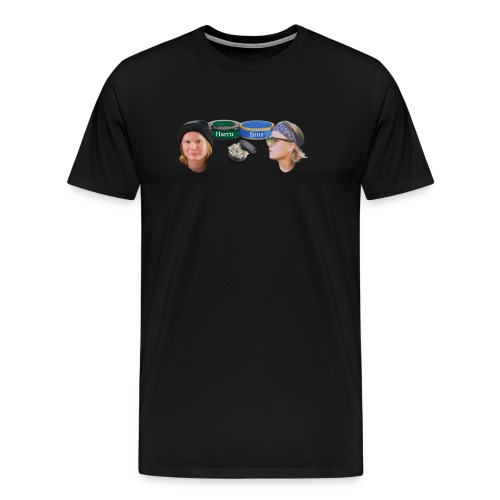 snoeoeoes - Premium-T-shirt herr