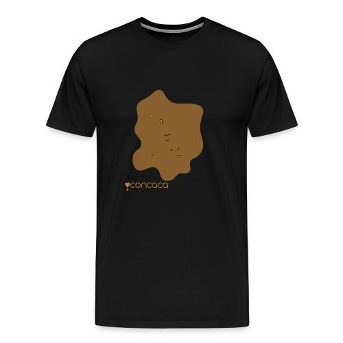 Baby bodysuit with Baby Poo - Men's Premium T-Shirt