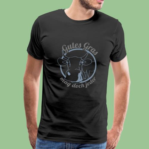 Kuh mit Spruch - Männer Premium T-Shirt