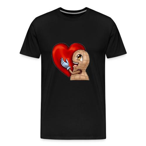 Love Nuss - Männer Premium T-Shirt
