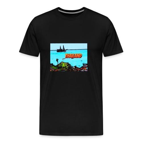 Thailand Pirat - Männer Premium T-Shirt