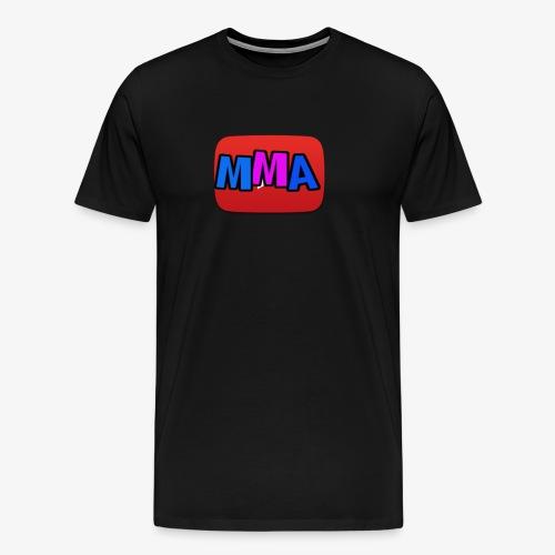 MMA Logo - Premium T-skjorte for menn
